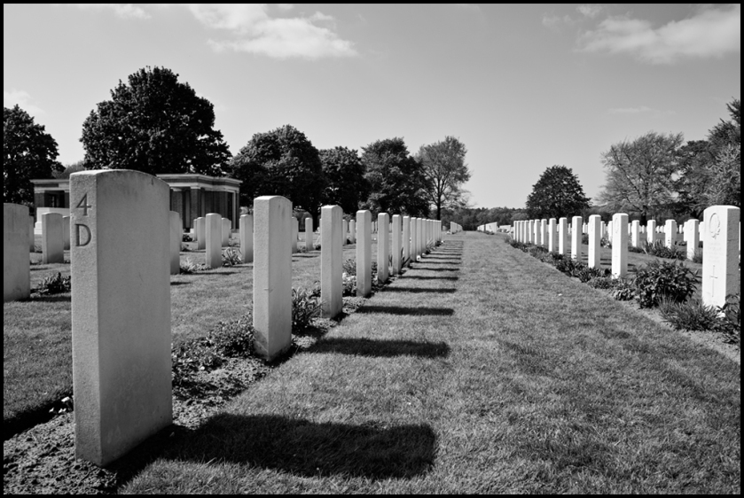 Canadian War Cemetery by Wouter Brandsma