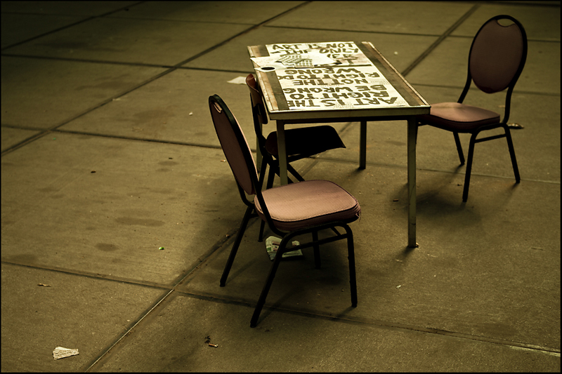Chairs by Wouter Brandsma