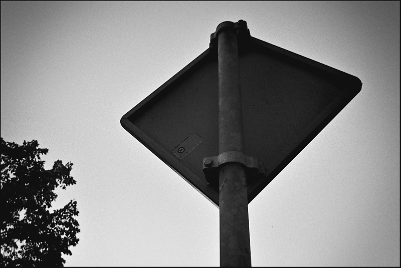Rear Sign by Wouter Brandsma