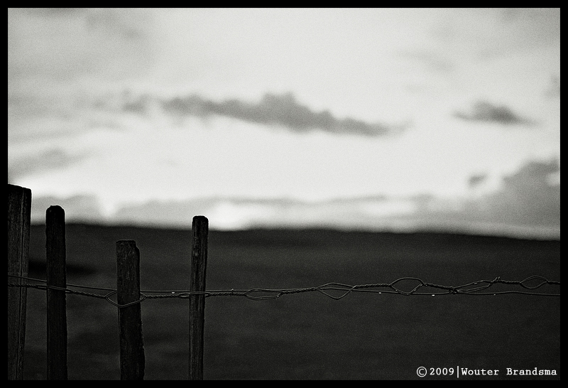 On the fence by Wouter Brandsma