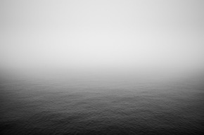 photography, photograph, sea, black and white, endless, blending, wouter brandsma, ricoh gr